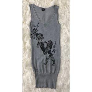 FAITH CONNEXION silver dress NEW